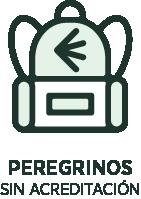 Peregrinos (acreditación no necesaria)